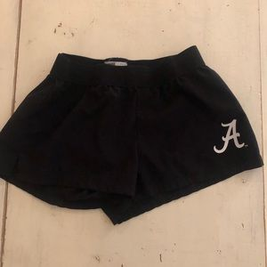 University of Alabama soffee running shorts size S